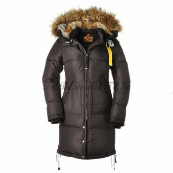 Parajumpers Long Bear Dam Dunjacka Päls Trim Brun