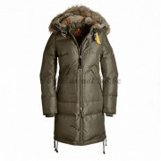 Parajumpers Long Bear Dam Dunjacka Päls Trim Oliv..